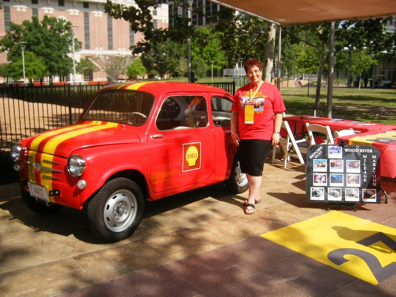 Jody Holton with Fiat